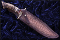 "10"" Bowie in its Sheath - SOLD"