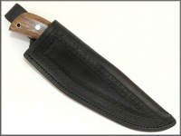 Hunting Knife Sheath With Border Stamping