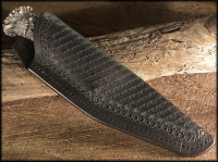Nessmuck Knife Sheath With Full Pattern Stamping